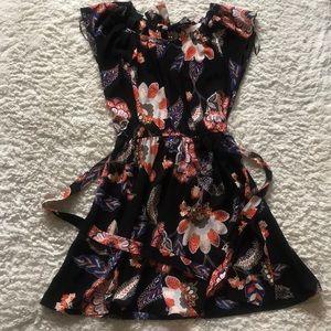 LC Lauren Conrad Floral Dress Size S